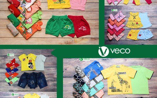 bộ sưu tập thời trang trẻ em giá sỉ VECO mùa Hè 2018