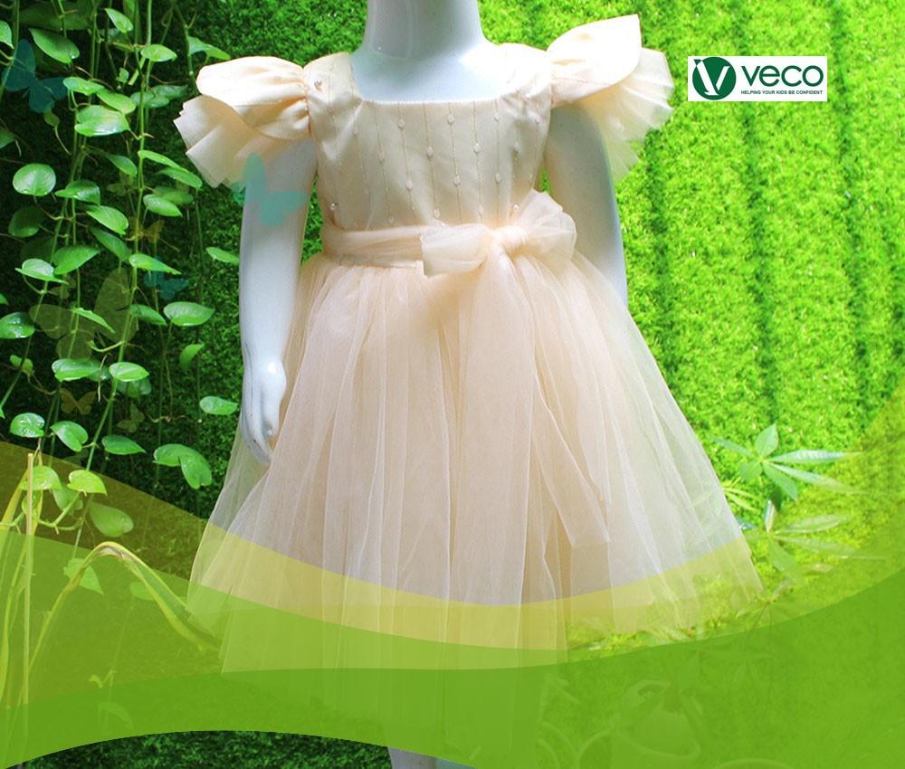 Thời trang Tết 2020 trẻ em nữ đẹp-Xưởng thời trang trẻ em giá sỉ Veco