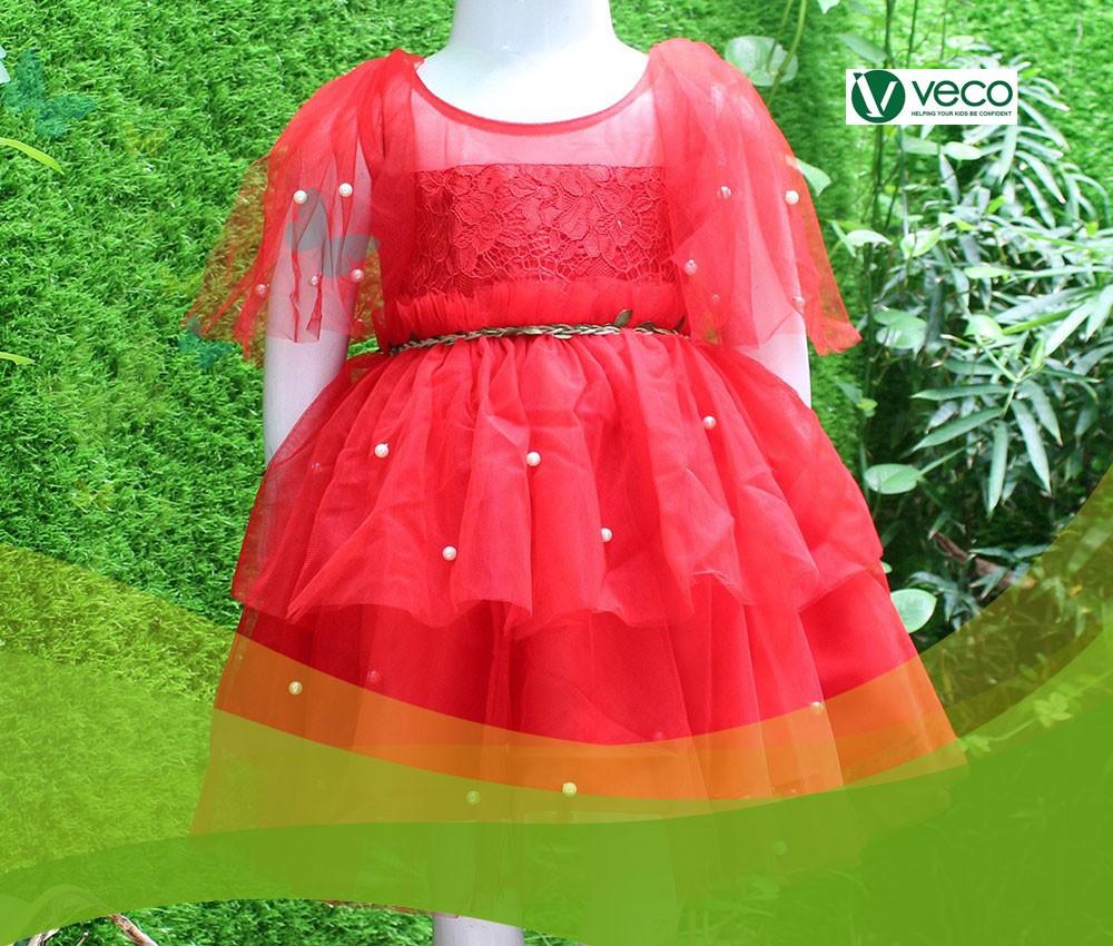 BST Thời trang trẻ em nữ cho mùa Tết 2020-Xưởng thời trang trẻ em giá sỉ Veco