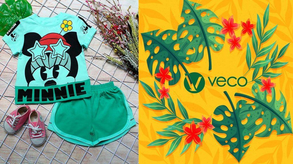 Quần áo trẻ em xuân hè 2021_Quần áo bé gái_BS202-060001 BỘ SỌT
